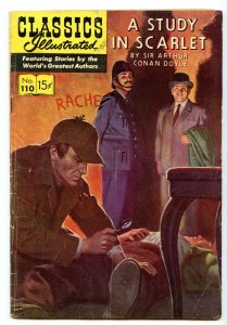 Classics Illustrated 110 (Original) Aug 1953 VG (4.0)