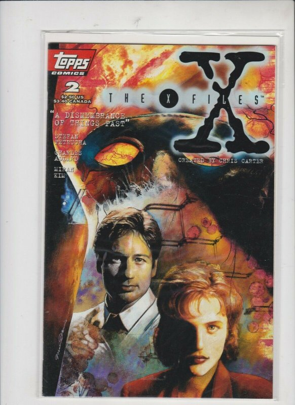 THE X-FILES #2  DISMEMBRANCE   TOPPS COMICS  / UNREAD / HIGH QUALITY