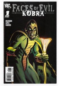 Faces of Evil Kobra (2008) #1 NM-