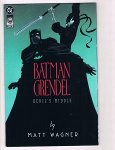 Batman & Grendel Devils Riddle TPB DC Comic Books Hi-Res Scans Awesome Issue! T6