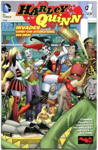 HARLEY QUINN Invades Comic-Con #1, NM, Conner, Palmiotti, 2014, more HQ in store