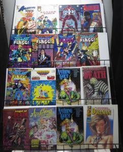 1986-1990 Indies spectacular survey WYSIWYG- SWB 160+ Comic history Uncirculated
