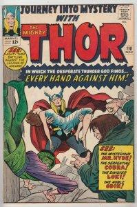 Journey into Mystery #110 (Nov-64) FN+ Mid-High-Grade Thor