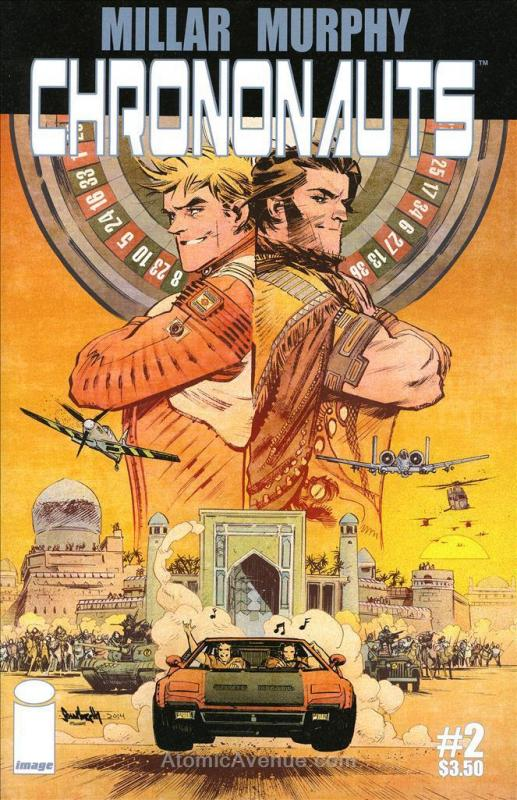 Chrononauts #2 VF/NM; Image | save on shipping - details inside
