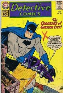 Detective Comics #292 ORIGINAL Vintage 1961 DC Comics Batman