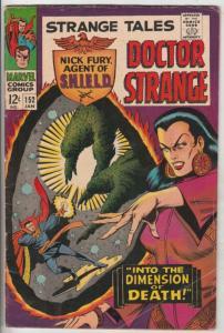 Strange Tales #152 (Jan-67) VG/FN+ Mid-Grade Nick Fury, Dr. Strange