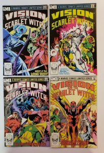 Vision And The Scarlet Witch #1-4 Complete Set Marvel Comics 1982 FN/VF