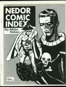 Nedor Comic Index by Mike Nolan- Fanzine Black Terror Fighting Yank 1968