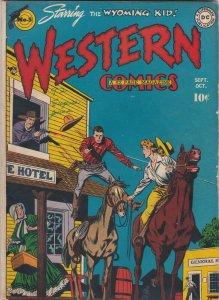 Western Comics 5 FN art by Alex Toth  (Oct. 1948)