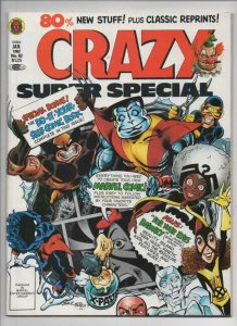 CRAZY #82 Magazine, VF/NM, X-Men Super Special, 1973 1982, more in store