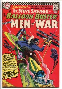 ALL-AMERICAN MEN OF WAR #116-1966-DC-LAST BALLOON BUSTER-vg