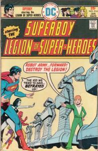Superboy #214 (Jan-76) FN Mid-Grade Superboy, Legion of Super-Heroes
