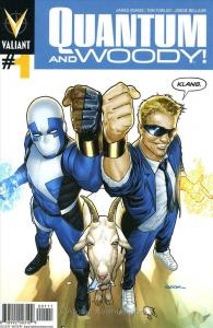 Quantum & Woody (2nd Series) #1 VF/NM; Valiant | save on shipping - details insi