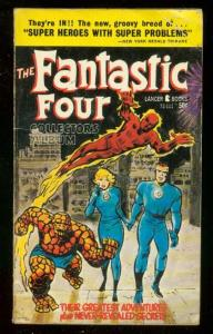 FANTASTIC FOUR PAPERBACK 1966-COLLECTORS ALBUM-J KIRBY VG