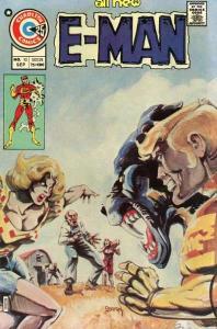 E-Man (1973 series) #10, VF (Stock photo)