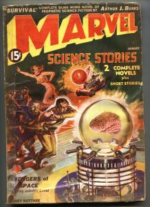 Marvel Science Stories #1 AUG 1938-1st issue-First MARVEL logo! Pulp