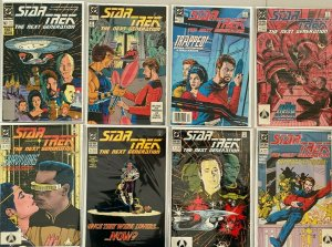 Star trek the next generation comic lot 2nd series#1-80 ANN 1-6 108 diff (1989)