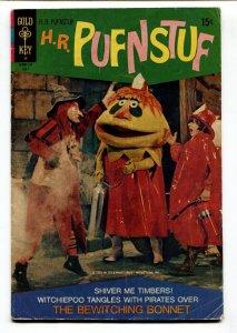 H.R PUFNSTUF #4 comic book 1971-GOLD KEY-SID & MARTY KROFT-TV SERIES-vg-