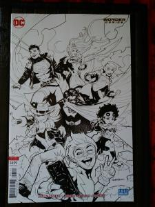 Young Justice Vol 3 #1 Cover B Variant Patrick Gleason Sketch Cover Unread Copy