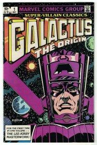 Super-Villain Classics #1 VF; Marvel | Origin of Galactus 1983