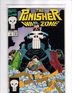 Marvel Comics Punisher War Zone #3 Chuck Dixon Story John Romita, Jr. Cover Art