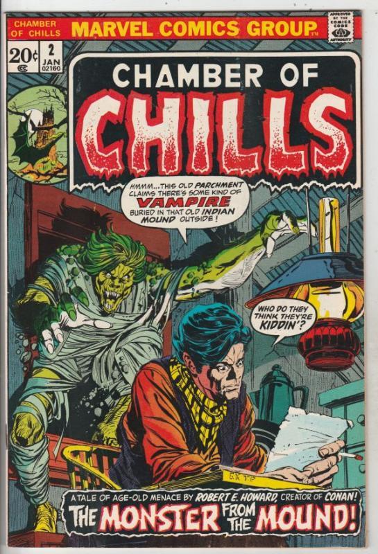 Chamber of Chills #2 (Jan-73) VF High-Grade