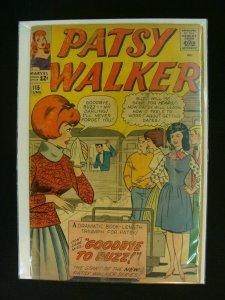 Patsy Walker #115 Marvel Comics Romance GD Condition