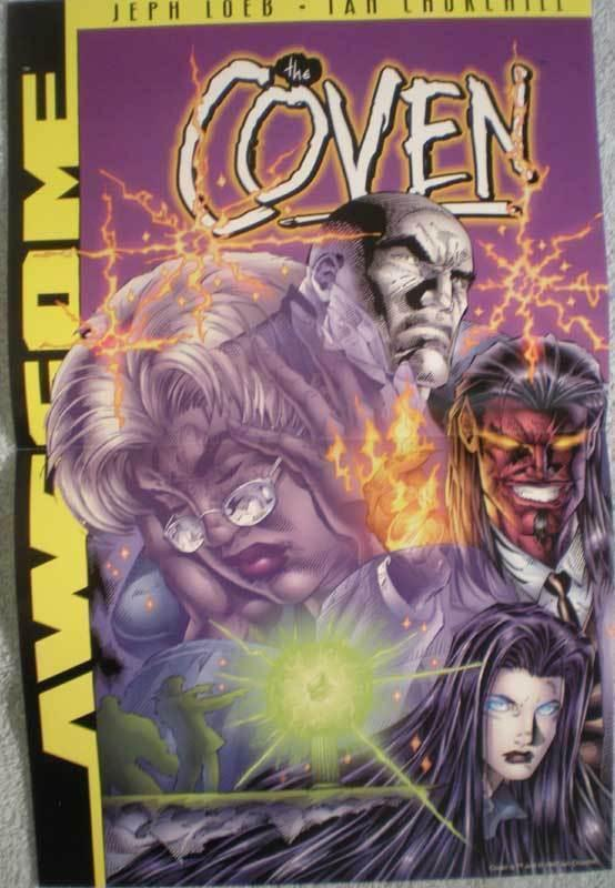 COVEN Promo poster, 11x17, 1997, Unused, more Promos in store