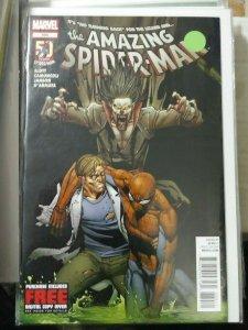 Amazing Spider-Man # 689 2012  marvel   LIZARD MORBIUS VAMPIRE
