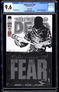 Walking Dead #100 CGC NM+ 9.6 White Pages 1st Negan!
