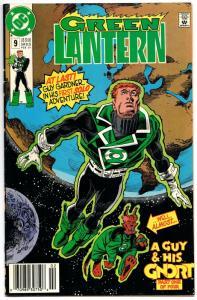 Green Lantern #9 (DC, 1991) FN