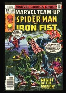 Marvel Team-up #63 NM- 9.2 Power Man Iron Fist!