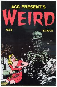 WEIRD #1, FN/VF, ACG, Corpse in the House, 1999, more Horror in store