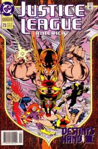 Justice League (1987 series) #73, VF+ (Stock photo)