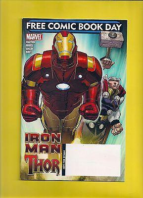 Iron Man Thor (FCBD)2010 NM,must see actual full cover sc...