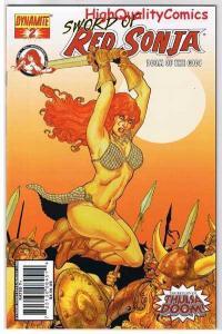 RED SONJA : DOOM of the GODS #2, VF+, Robert Howard, 2007, more RS in store