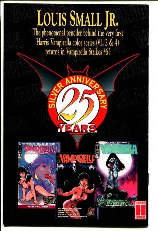 Vampirella Strikes #6 1996- Ash Can Preview Edition-Louis Small Jr-NM