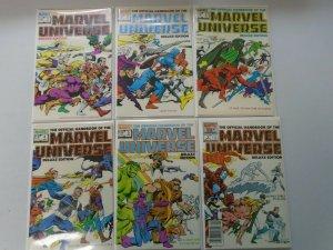 Official Handbook of the Marvel Universe Run: #1-18 8.0 VF (1985-1987)