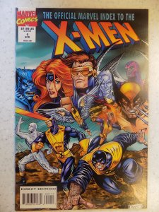 X-MEN OFFICIAL HANDBOOK # 1