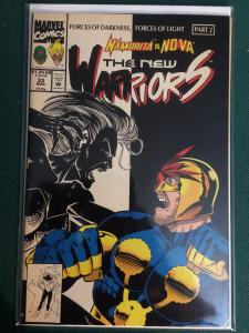 The New Warriors #33 Forces of Darkness, Forces of Light part 2
