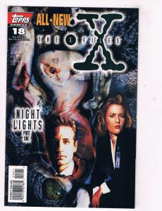 X-Files (1995) #18 ToppsComic Book Night Lights Part One Mulder Scully HH3