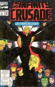 Infinity Crusade #1, NM (Stock photo)