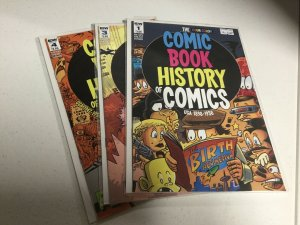 The Four Color Comic Book History Of Comics 1 3 4 Nm Near Mint IDW