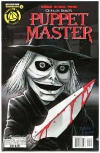 PUPPET MASTER #1, NM, Bloody Mess, 2015, Dolls, Killers, more HORROR  in store,B