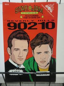 STAR JAM 90210 Celebrity Bio Comics 1992 Lot of 4 F-VF Luke & Jason