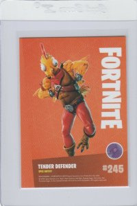 Fortnite Tender Defender 245 Epic Outfit Panini 2019 trading card series 1