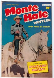 Monte Hale Western #81 (Feb-53) VG/FN Affordable-Grade Monte Hale
