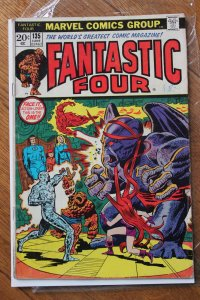 FANTASTIC FOUR #135 (Marvel,1973) Condition VG