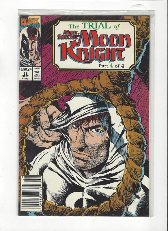 Marc Spector: Moon Knight #18 Trial of Moon Knight NM