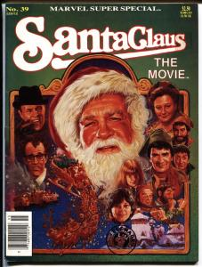 Marvel Super Special #39 1985-SANTA CLAUS THE MOVIE vf+